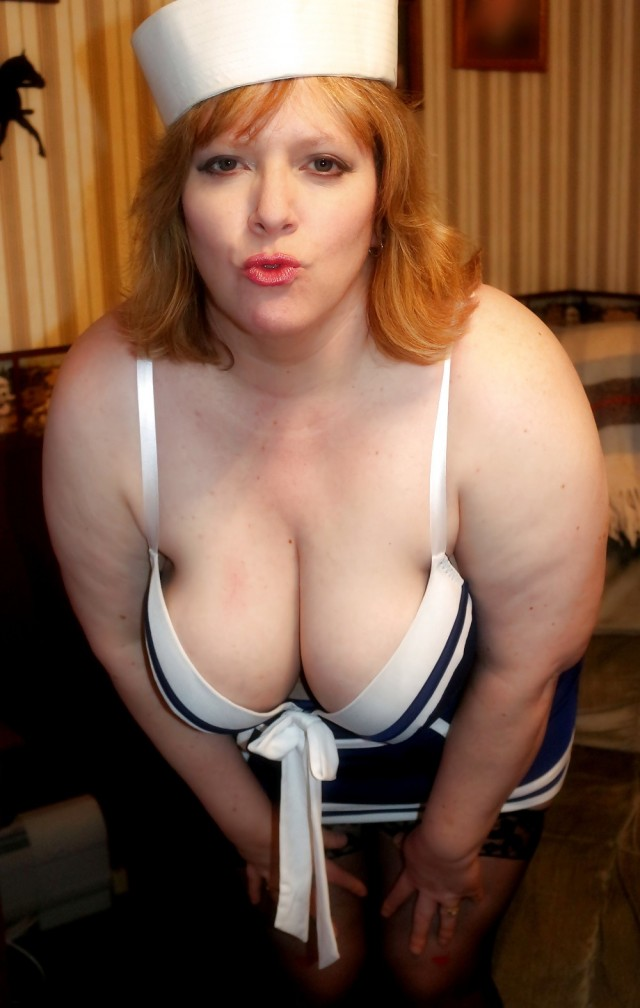 Brittaney Private Pics Sexy Housewife Sailor Bbw Big Tits Milf Big